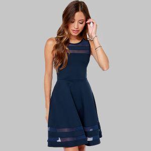 Winning Look Self-Tie Dress